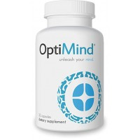 Optimind - Pack of 1 - Premium Nootropic Supplement Brain Booster - Supports Concentration, Focus, Improved Memory and More - Best Brain Supplement with Synapsa® Bacopa, Vinpocetine, Tyrosine and More