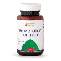 Rejuvenation for Men | 60 Herbal Tablets | Natural Herbal Supplement for Promoting Stamina, Strength of Reproductive Tissue & Overall Health | Repairs Damaged Cells
