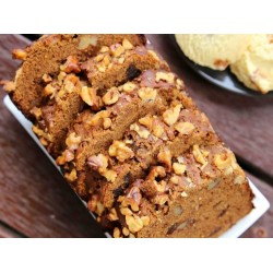 Eggless Date Walnut Cake Recipe - Healthy Holiday Recipes - 1