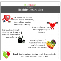Get your Heart In Shape – Tips for a Healthy Heart