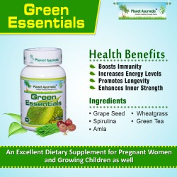 Green Essentials - A Herbal Supplement to Maintain a Healthy Immune System