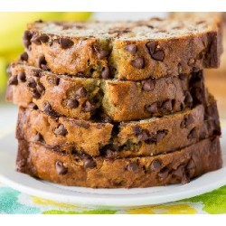 One Bowl Chocolate Chip Banana Bread Recipe - Healthy Holiday Recipes – 3