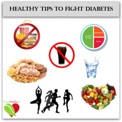 Healthy Tips to Fight Diabetes