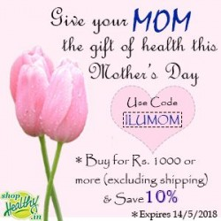 Yummy & Healthy Gift Ideas for Mother's Day