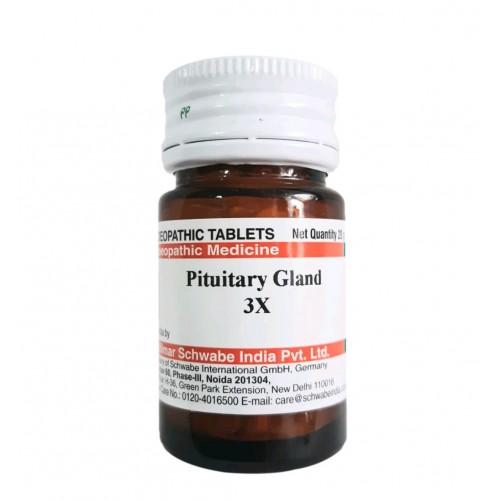 Willmar Schwabe India Pituitary Gland 3X : Frequent urine, nausea, vomiting, vertigo, checks bleeding, weakness