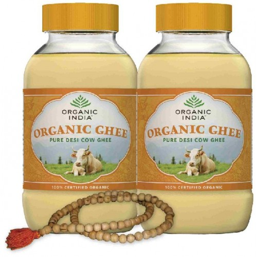 Organic India Pure Desi Cow GHEE Combo