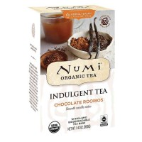 Numi CHOCOLATE ROOIBOS Indulgent Tea (12 TB)