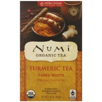 Numi THREE ROOTS Turmeric Tea (12 TB)
