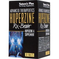 Advanced Therapeutics Huperzine Rx-Brain, Nature's Plus, 30 tablets