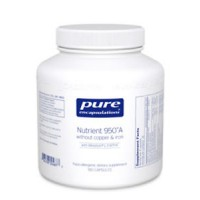 Pure Encapsulations - Nutrient 950A Without Copper & Iron 180vcaps