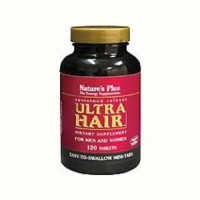 Ultra Hair Time Release Mini Tabs Nature's Plus 120 Tabs