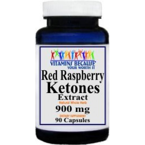 #1 VALUE RASPBERRY KETONES 90 Capsule Bottle - 45 day supply - 900mg PER SERVING - Promotes Fat Buring - NO Fillers! This is a Favorite and a Great Value!!