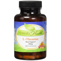 Absorb Health L-Theanine 200mg Capsules, 100 Count