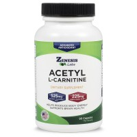 Acetyl L-Carnitine With Alpha Lipoic Acid - For Brain Health & Fat Loss - 90 Capsules