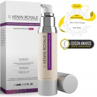 All In One Anti Aging Skin Care Treatment - Best Snake Venom Peptide Cream for Wrinkles Fine Lines Rosacea Hydration Uneven Tone Texture Botox - Concentrated Neuropeptide Renewal Serum (1.7oz)