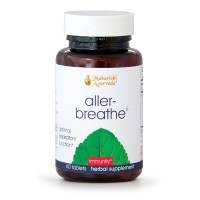 Aller-Breathe | 60 Herbal Tablets | Detox & Soothe the Respiratory Tract with Turmeric & Amla | Restores Moisture Balance & Promotes Healthy Functioning of Bronchial System