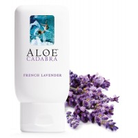 Aloe Cadabra Natural Organic Personal Lubricant and Vaginal Moisturizer, French Lavender, 2.5 Ounce