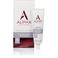 Alpha Skin Care - Enhanced Wrinkle Repair Cream.15% Retinol, Real Results for Lines and Wrinkles| Fragrance-Free| 1.05-Ounce