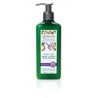 Andalou Naturals Thyme Body Lotion, Lavender, 11 Ounce