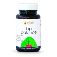 BP Balance | 60 Herbal Tablets | Natural Formula to Support Healthy Blood Pressure with Jatamansi & Arjuna | Detoxifies & Promotes Healthy Liver Function | Nourishes Blood Vessels & the Heart