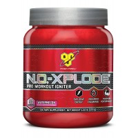BSN N.O.-XPLODE Pre-Workout Supplement with Creatine, Beta-Alanine, and Energy, Flavor: Watermelon, 30 Servings