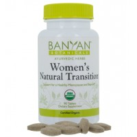 Banyan Botanicals Women's Natural Transition - USDA Organic, 90 tablets - Cooling & Soothing - Herbal Hotflash Relief For Menopause*