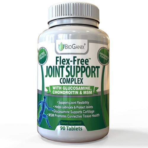 Best Joint Support Supplement (Glucosamine Sulfate, Chondroitin, MSM Complex & More) Increase Mobility & Get Natural Relief for Joint Pain, Aches & Inflammation