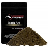 "Black Ant Extract Powder - Herbal Tonic - ""Herb of Kings"" - All Natural Energy Boost - Supports Liver, Kidney & Immune System Health - Gluten Free, Vegan and Paleo Friendly - (100 g)"