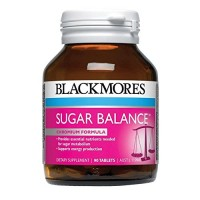 Blackmores Sugar Balance 90 Tablets Health Supplements Providing Important Nutrients to Assist Sugar and Carbohydrate Metabolism