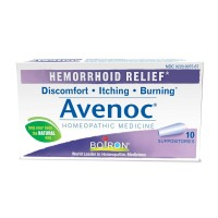 Boiron Avenoc, 10 Suppositories, Homeopathic Medicine for Hemorrhoid Relief