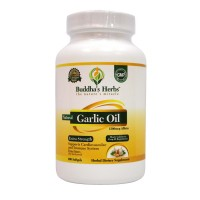 Buddha's Herbs Extra Strength Garlic Oil (1500 mcg Allicin), 200c