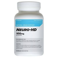 Cellusyn Neuro-HD Brain Supplement for Neural and Cognitive Enhancement, 60 Capsules - 1 Bottle