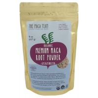 Certified Organic Gelatinized Premium Maca Powder - Incredibly Potent, Fresh Harvest From Peru, Fair Trade, Gmo-free, Gluten Free, Vegan and Pre-cooked, 8 Oz - 25 Servings