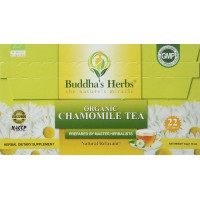 Chamomile Tea Organic - (2 Pack) 22 Count Tea Bags - Green Tea - Organic Chamomile Tea - Relax Tea - Herbal Tea