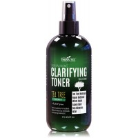 Clarifying Toner with MSM, Tea Tree & Neem Hydrosol, Acne Control for Face & Body - Natural Pore Reducer Controls Oil to Smooth, Tone, Balance & Hydrate Skin, Sodium PCA - 8 oz