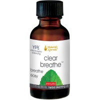 Clear Breathe | 1 fl. oz. | Natural Herbal Inhalant with Eucalyptus, Fennel & Clove | Balances Phlegm & Helps Open the Upper Respiratory Tract