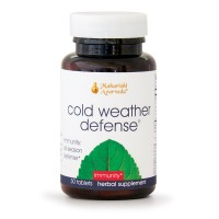 Cold Weather Defense | 30 Herbal Tablets | Natural Herbal Remedy for Balancing Mucus in Lungs & Sinuses with Indian Elecampane & Licorice | Support Immunity with Holy Basil | Helps Remove Toxins
