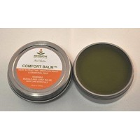 Comfort Balm Hemp Oil Extract Salve 60 mg FAST Muscle & Joint Relief 1 ounce Hemp and Arnica oil Salve Restorative Botanicals