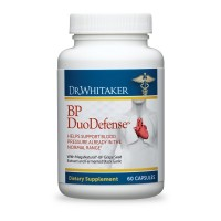 Dr. Whitaker's BP DuoDefense Combines Grape Seed Extract with Fermented Black Garlic for Healthy Blood Pressure and Heart Health Support (30-Day Supply)