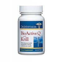 Dr. Whitaker's BioActive Q with Krill Omega-3 and Ubiquinol Heart Health Supplement, 30 softgels (30-day supply)