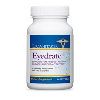 Dr. Whitaker's Eyedrate Hydration and Lubrication Supplement with Omega-3, Omega-7 and Antioxidants, 60 Softgels (30-Day Supply)
