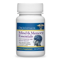 Dr. Whitaker's Mind & Memory Essentials for Memory and Brain Health, 30 Capsules (30-Day supply)