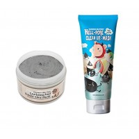 Elizavecca Milky Piggy Hell-Pore Clean Up nose Mask With Carbonated Bubble Clay Mask