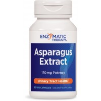 Enzymatic Therapy Asparagus Extract Capsules, 60 Count