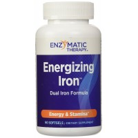 Enzymatic Therapy Energizing Iron, 90 Softgels