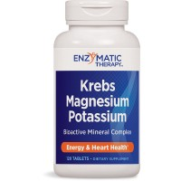 Enzymatic Therapy Krebs Magnesium Potassium Tablets, 120 Count