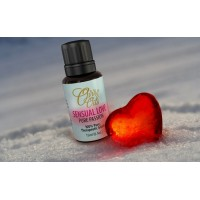Essential Oil Valentine's Blend by Ovvio, All Natural Aphrodisiac, Romantic Scent, 100% Pure Rose Oil, Ylang Ylang, Clary Sage, & Bergamot Oil Blend