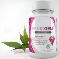 EstroGem, Premium Female Libido Enhancement & Menopause Supplement, 100% All Natural, Sex Enhancer & Booster, Perfect for Menopause & Menstrual Symptoms Support & Relief, for Women, 60 Capsules.