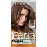 Feria Hair Color, 60 Light Brown (Packaging May Vary)