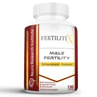 FertilitiX Male Fertility Enhancement Formula | Improve Sperm Quality, Motility, and Volume (120 Capsules)